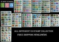 All Different US Stamp Collection, Shipping Is Free Worldwide