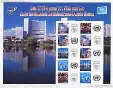 UNO WIEN - 2007 EURO GRUSSMARKEN BOGEN 497-01 (ANK 498-02) ESSEN ** - SELTEN
