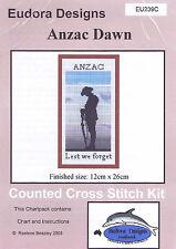 """Anzac Dawn"" Counted Cross Stitch Chart EU239C"