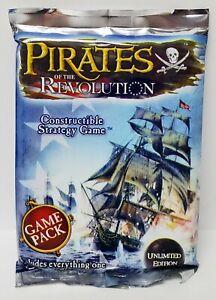 PIRATES OF THE REVOLUTION Sealed Game Pack Wizkids Pirates CSG WZK6067