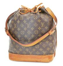 Authentic LOUIS VUITTON Noe Monogram Shoulder Tote Bag Purse #37748