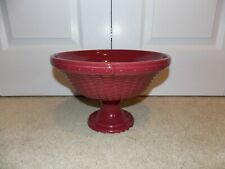 * Longaberger * Woven Reflections Paprika Pottery (Compote Bowl) Item # 3172240
