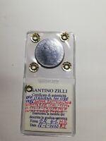 REPUBBLICA ITALIANA -100 LIRE 1976 - MINERVA. DOPPIA BATTITURA - PERIZIATA - n64