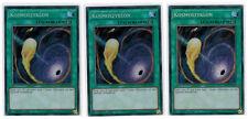 3UDS. kosmoszyklon mp17-de105, Secret Rare, MINT, 1ª edición, ALEMÁN, playset