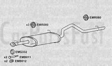 Exhaust Rear Box Suzuki Grand Vitara 2.0 Diesel ATV/SUV 03/2002 to 03/2006