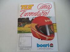 advertising Pubblicità 1984 BOERI CASO HELMET TEST