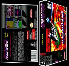Arkanoid Doh it Again - SNES Reproduction Art Case/Box No Game.