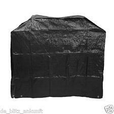 BBQ Barbeque Grill Gasgrill Grillabdeckung Abdeckhaube 145x65x115cm schwarz ●