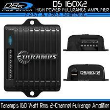 Taramps DS 160X2 160 Watt Rms 2-Channel Amplifer 2-ohm Compact Car Fullrange Amp