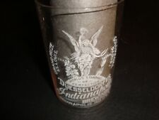 Circa 1910 Indianapolis Brewing Duesseldorfer Etched Glass, Version #1