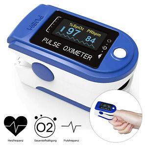 Oximeter Pulsoximeter Sauerstoff Pulsmessgerät Finger Pulsoxymeter SpO2