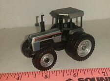 1/64 ertl custom agco white workhorse 195 tractor fwa duals oliver farm toy