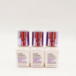 3 x Estee Lauder Perfectionist Pro Rapid Brightening Treatment 7ml Each