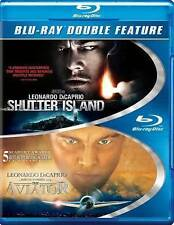 Shutter Island/The Aviator (Blu-ray Disc, 2014, 2-Disc Set) Leonardo DiCaprio