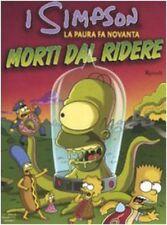 I Simpson La paura fa novanta.Morti dal ridere Matt Groening Rizzoli