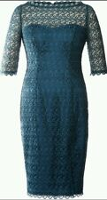 BNWT *COAST* TEAONI LACE DRESS, 8 (UK), TEAL , FITTED COCKTAIL, ELEGANT DRESS
