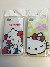 iPhone Hello Kitty 4S 4G 4 Case White Green Red Blue Brand New Buy 1 get 1 Free