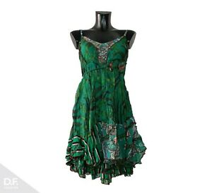 SENSATIONS N1 Made in France  Damen Sommerkleid Minikleid Trägerkleid Gr. 34-40