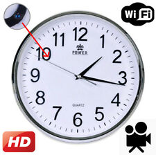 WiFi HD Spy Hidden Camera Wall Hanging Clock Video Recorder Motion DVR Digital