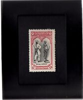 Framed Stamp Art - Collectible Pakistan Postage Stamp 1948