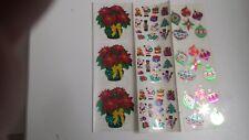 sandylion scrapbooking stickers CHRISTMAS 3 sticker set RARE all things xmas