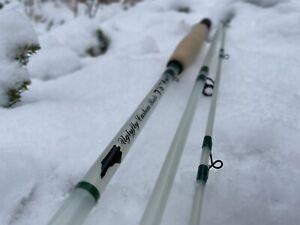 """Uglyfly Custom Rods 7'6"""" 4wt 3pc Fiberglass White (rodtube Not Included)"""