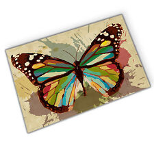 Butterfly specimen Absorbent Flannel Bathroom Floor Shower Mat Rug Non-slip new