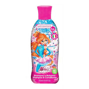 02753 Naturaverde Winx Club Bloom Shampoo & Conditioner Bio Organic 250ml
