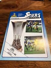 TOTTENHAM HOTSPUR SPURS V HAJDUK SPLIT 1984 UEFA CUP SEMI FINAL PROGRAMME