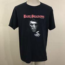 Vintage DARK SHADOWS Dan Curtis Productions T Shirt M/L VHS Horror Movie Opera