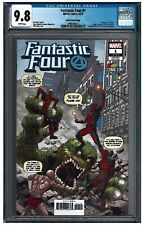 FANTASTIC FOUR #1 CGC 9.8 (10/18) Marvel Sliney variant white pages