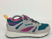 Reebok Hexalite Multicolour Suede Sneaker Trainers Women Size UK 4.5 Eur 37.5