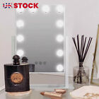 Hollywood Mirror With Lights Dressing Vanity Makeup Desk Table Bright 12 LED