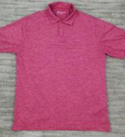 Nike Golf Dri Fit Men's Short Sleeve Golf Polo Medium Purple/Pink Polyester