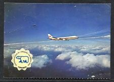 Japan Airlines - Commemoration of Crossing by Brian Reed - Stamp/Postmark - 1973