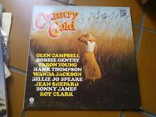 "LP 12"" COUNTRY GOLD MFP50247 WANDA JACKSON BOBBIE GENTRY SONNY JAMES EX+/N-MINT"