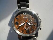 Fossil Chronograph men's dress,w-resistant,date & Analog dress watch.Jr-1355.