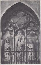 D3387 Cosenza - Duomo - Tomba di Isabella d'Aragona - Stampa - 1940 old print