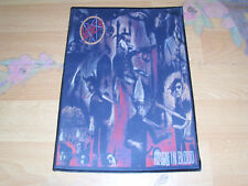 Thrash Metal Backpatch Patch Kutte Aufnäher Reign In Blood