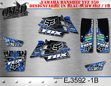 Motostyle-MX décor Graphic Kit ATV Yamaha LE HURLEUR YFZ 350 e3592 B