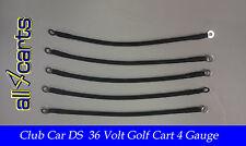 Club Car DS Golf Cart Battery Cable Set   4 Gauge for 36 Volt Carts Ds36Volt