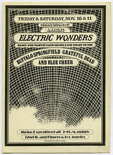 GRATEFUL DEAD Buffalo Springfield 1967 Authentic Concert Handbill / Flyer