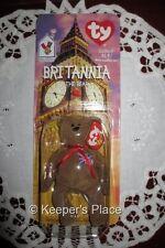 Ty Britannia THE BEAR Beanie Bear British Ronald McDonald House Charities New