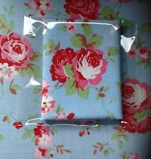 Cath Kidston Fabric 50 X 50cms Blue Rose Patchwork Material Sewing FQ Quilting