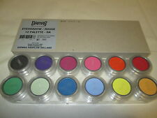 Grimas Professional Eyeshadow Make Up - RA 12 Colour (Stage / Theatre / Make up)