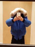 NEW SPECIAL EDITION POLAR BEAR CANADA GOOSE BLUE LABEL PBI CHILLIWACK LG PARKA
