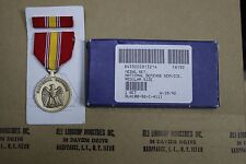 GENUINE US ARMY ISSUE NATIONAL DEFENSE DEFENCE MEDAL INCLUDING RIBBON & BAR LOT