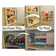 New Kitchen Cabinet Wall Mount Storage Shelf Pantry Holder Spice Rack Organizer