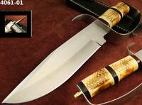 XXL Bowie Messer 440er Stahl Taschenmesser Damastmesser Jagdmesser Mega (4061-1