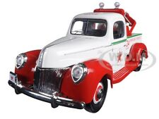"1940 FORD TOW TRUCK WRECKER ""TEXACO"" 1/18 DIECAST MODEL BY AUTOWORLD CP7321"